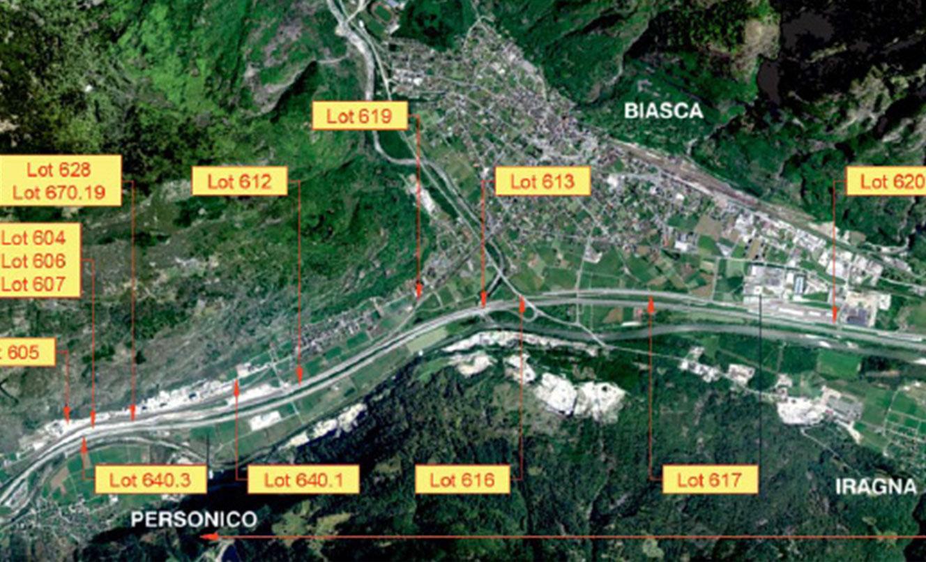 Nuova linea alta velocità ATG, BIASCA – SVIZZERA