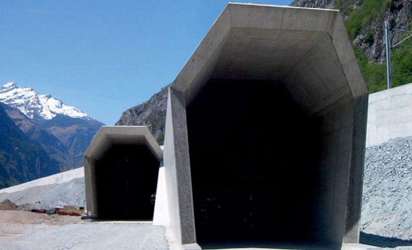 ATG – L604 Portale Galleria di Base del San Gottardo, BODIO – SVIZZERA