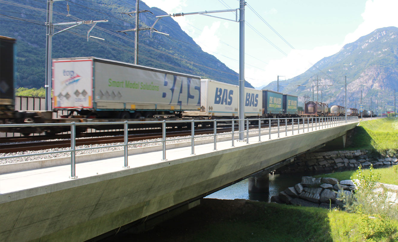 ATG – L626 Bridge over the river Froda, BIASCA – SWITZERLAND