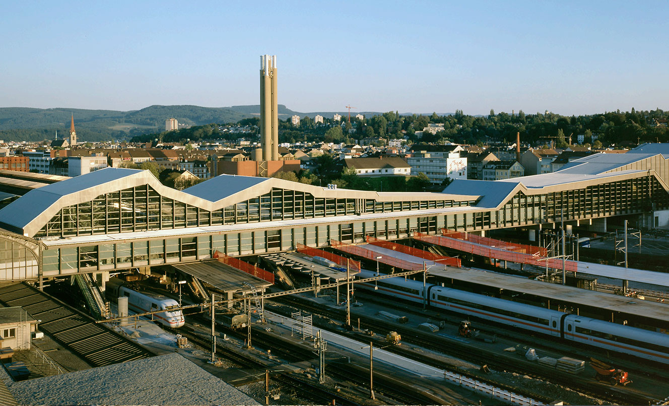 Stazione FFS di BASILEA – SVIZZERA