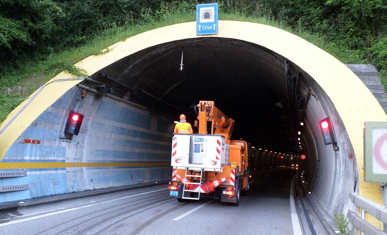N2,  Ispezioni Tunnel Schweizerhalle e Arisdorf – SVIZZERA
